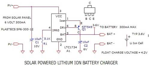 Solar power related schematics, Optoelectronic circuits, optical ...