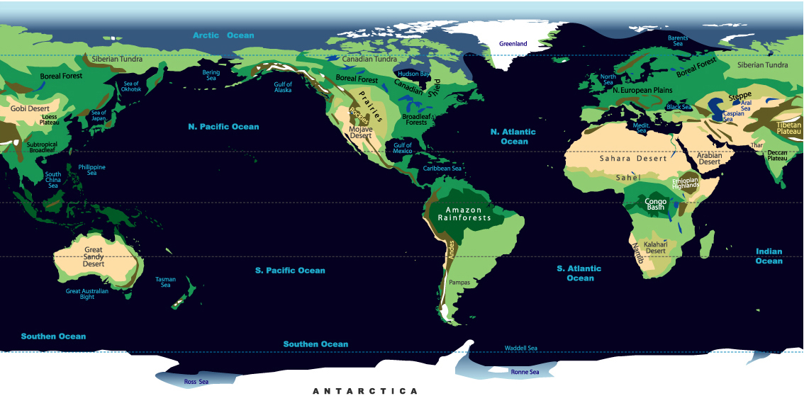 Atlas and maps online globes maps of the world worldmaps street biomes of the world gumiabroncs Choice Image