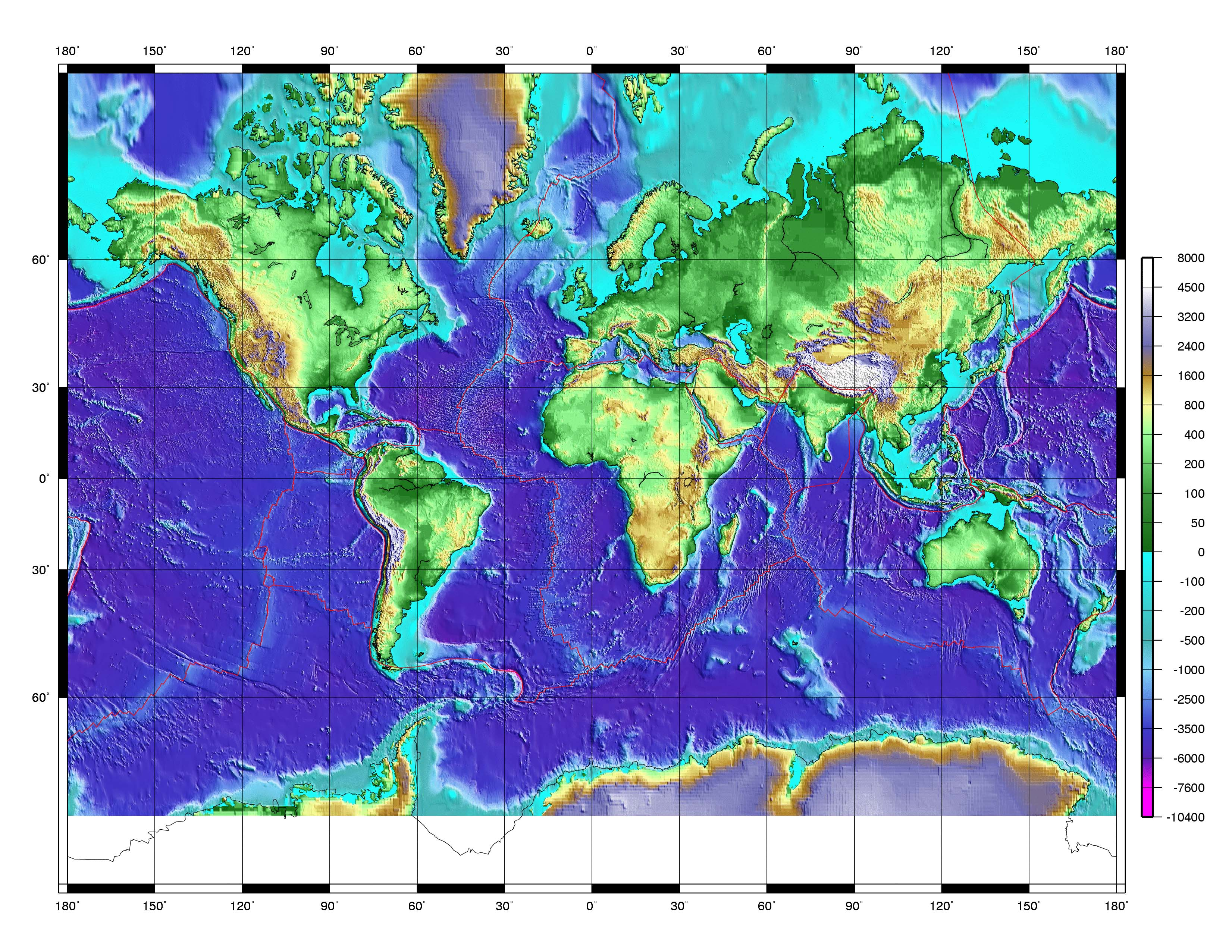Atlas and maps online globes maps of the world worldmaps plate boundaries world plate boundaries gumiabroncs Image collections